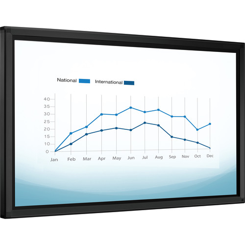 "QOMO Quest Pro Series QIT1255 Pro 55"" Interactive LED Touchscreen Display with Android 4.2.1 OS"