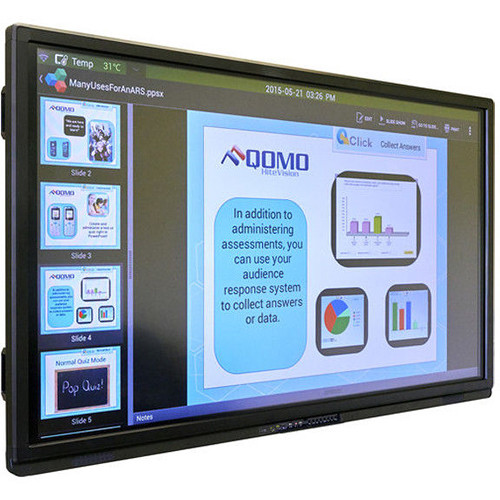 "QOMO Journey 13 75"" Full HD Interactive LED Touchscreen Display"