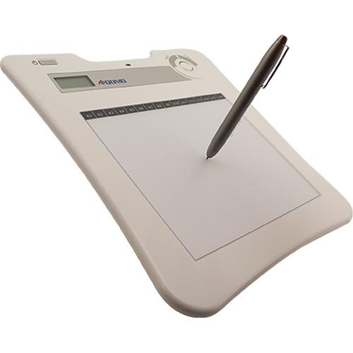 "QOMO HiteVision RF Wireless Interactive Tablet with Pen (10.9 x 11.1 x 0.8"")"