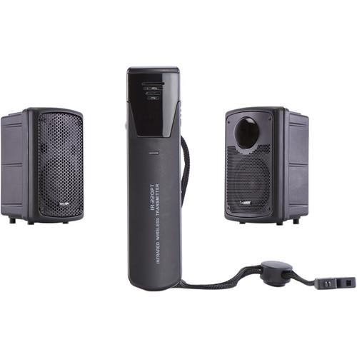 QOMO QSonic1000 Infrared Wireless Microphone & Sound System
