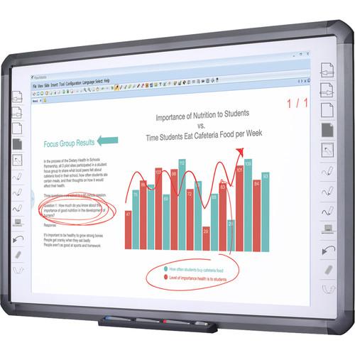 "QOMO HiteVision QWB898 Infrared Interactive Whiteboard (98"")"