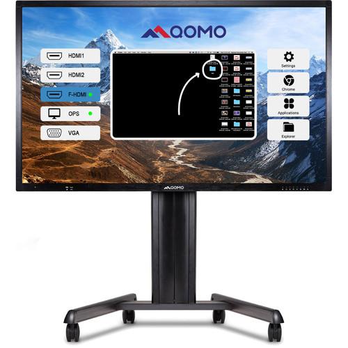 "QOMO Journey 13 Series 65"" 4K Interactive LED Touchscreen Display"