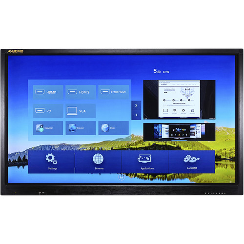 "QOMO Journey 13 86"" 4K Interactive LED Touchscreen Display"