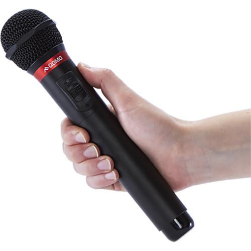 QOMO QSonic1000 Wireless IR Handheld Unidirectional Dynamic Microphone Transmitter