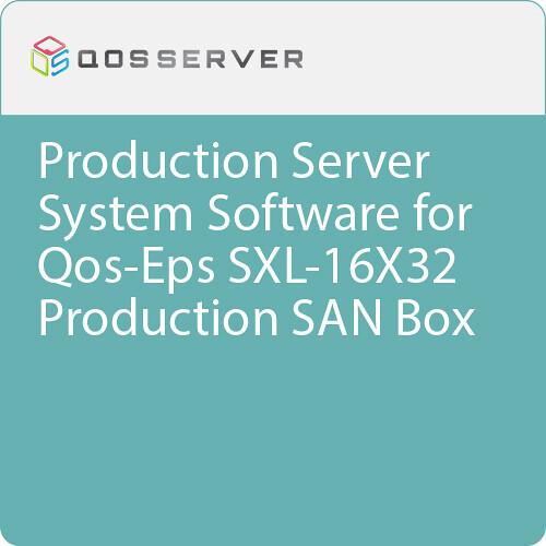 Qos-Eps Partition Management Software for Qos-Eps SXL-16X32 Production SAN Box