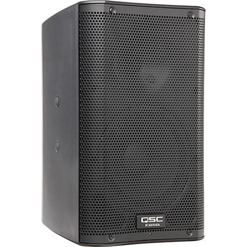 "QSC QSC K8 8"" 1000W Powered Speaker with Soft Carry Bag and Cable Kit"