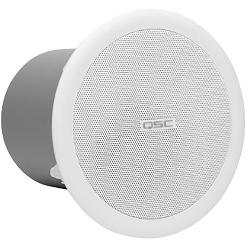 """QSC Full-Range Ceiling Speakers (Pair, 2.75"""")"""