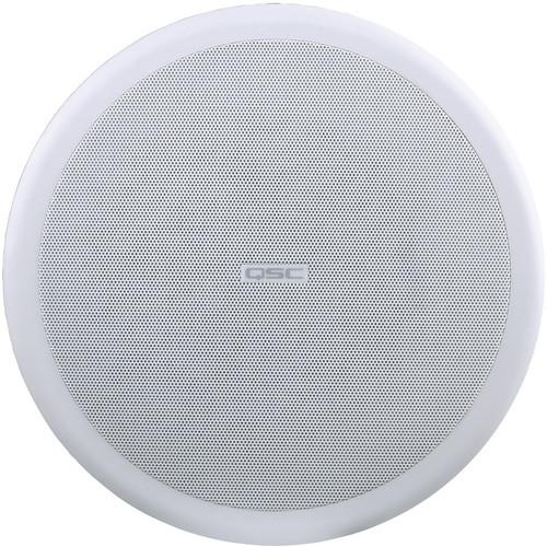 "QSC AcousticCoverage 8"" 2-Way Ceiling Loudspeaker"
