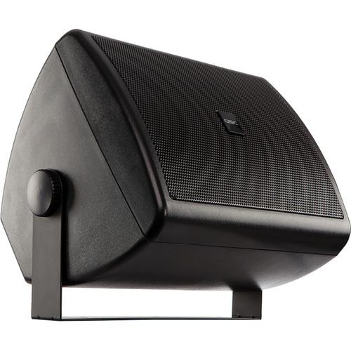 "QSC AC-S4T AcousticCoverage Series 4"" 2-Way 16W Loudspeaker (Pair, Black)"