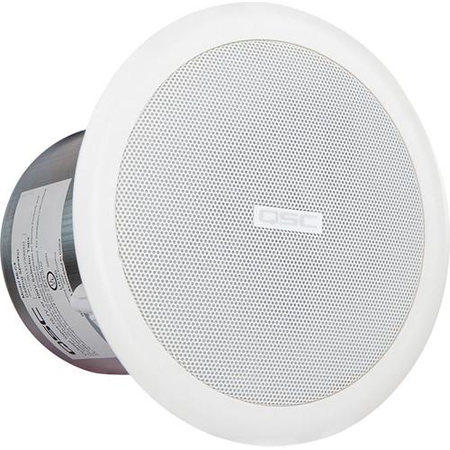 "QSC AcousticCoverage Series AC-C4T 4"" Ceiling-Mount Loudspeakers (Pair)"