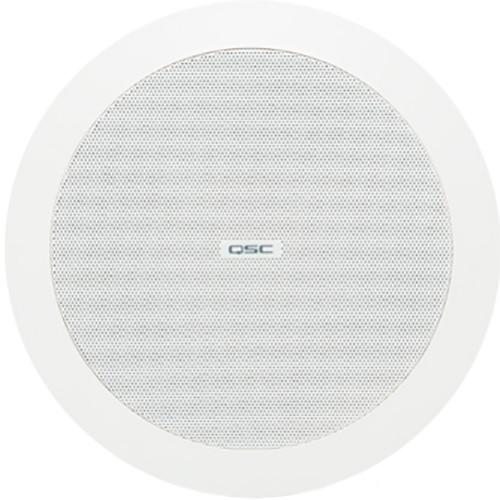 "QSC AcousticDesign 4.5"" 2-Way Ceiling Loudspeaker (White)"