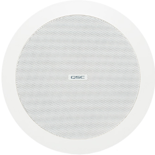 "QSC AcousticDesign 4.5"" 2-Way Ceiling Loudspeaker (Pair, White)"
