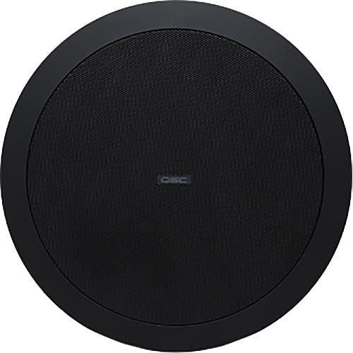 "QSC AcousticDesign 6.5"" 2-Way Ceiling Loudspeaker (Black)"