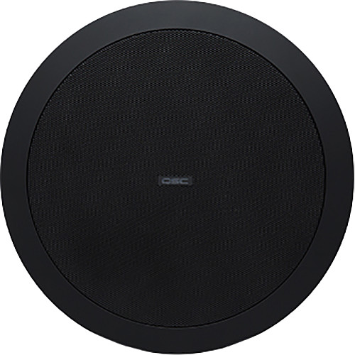 "QSC AcousticDesign 6.5"" Two-Way Ceiling Loudspeaker (Pair, Black)"