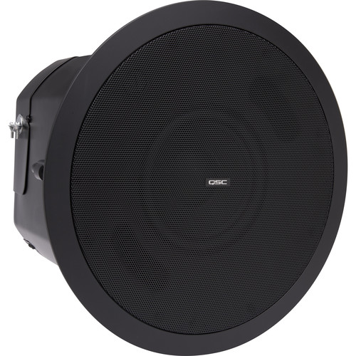 "QSC AD-C.SUB 6.5"" Small-Format Passive Ceiling Subwoofer (Black)"
