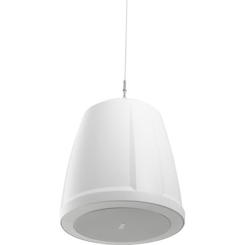 "QSC AcousticDesign Series Pendant-Mount Loudspeaker (4.5"", White)"