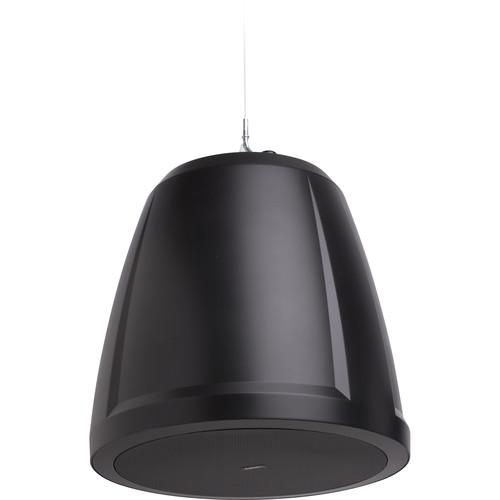 "QSC 6.5""Dual VoiceCoil Ceiling WeatherTreated Subwoofer-70/100V Transformer-Cable,Suspended Instal(Black"