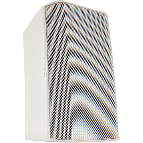 """QSC AcousticDesign AD-S4T 4"""" Two-Way Surface Mount Loudspeakers (Pair, White)"""