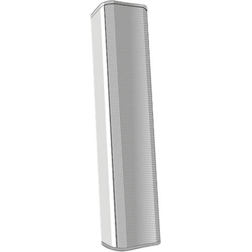 QSC AcousticDesign Series 8-Driver Column Surface-Mount Loudspeaker (White)