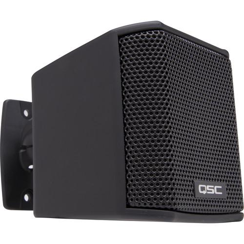 "QSC 2.75"" AcousticDesign AD-S.SAT Satellite Surface Loudspeaker (Black)"