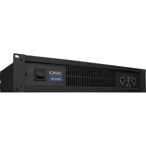 QSC CX-1102 700w @ 8 ohms power amplifier