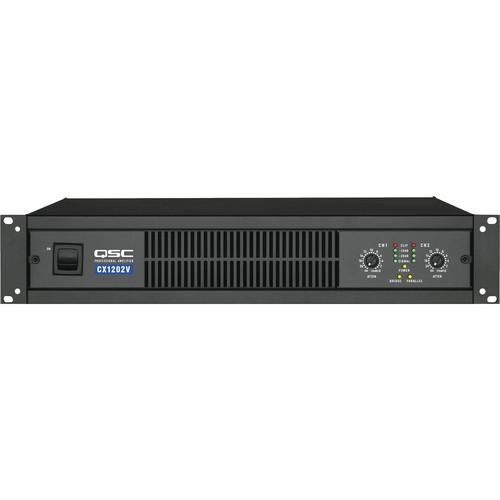 QSC CX-1202V 2 Channel Direct Output Power Amplifier (70V)