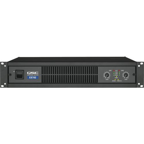 QSC CX-702 2-Channel Direct Output Power Amplifier (425W)