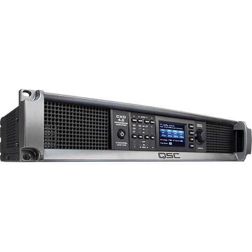 QSC CXD4.2 4-Channel Processing Amplifier (2500W)