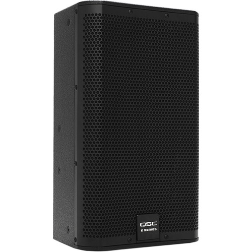 "QSC E10 10"" Two-Way Passive Loudspeaker (Black)"