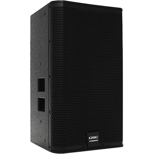 "QSC E112 12"" Two-Way Passive Loudspeaker (Black)"