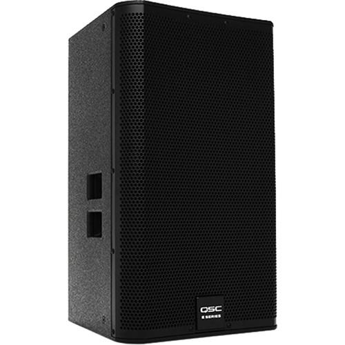 "QSC E115 15"" Two-Way Passive Loudspeaker (Black)"