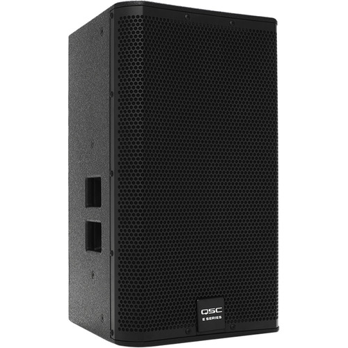 "QSC E12 12"" Two-Way Passive Loudspeaker (Black)"