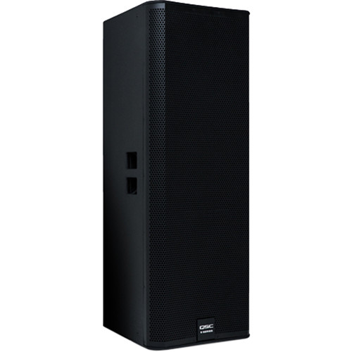 "QSC E215 - Dual 15"" Two-Way Passive Loudspeaker (Black)"