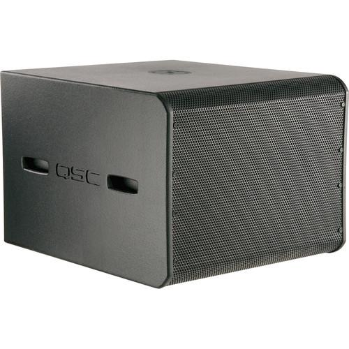 """QSC GP118-sw 18"""" Portable Subwoofer (Black Tour Grade)"""