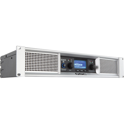 QSC GXD 8 Professional 4500W Power Amplifier with DSP