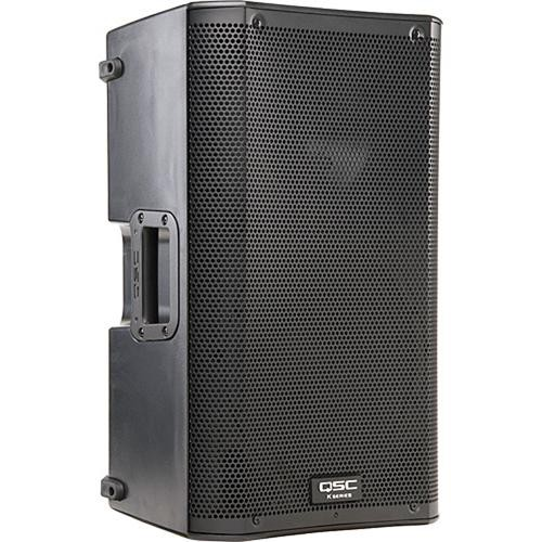 "QSC K10 PA Kit with EV 15"" Subwoofer, Soft Cases, Cables, and Speaker Pole"