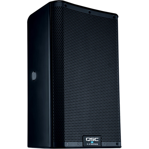"""QSC K8.2 Two-Way 8"""" 2000W Powered Portable PA Speaker with DSP Processor"""