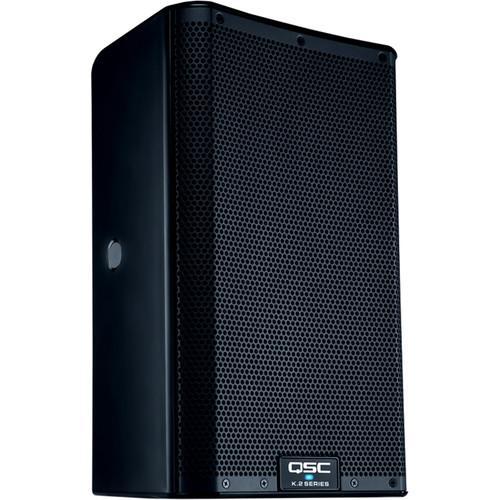QSC K12 K Series 2-way 1000 Watt Active Speaker with 12 Woofer