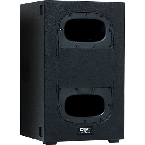 "QSC KS112 - 2000W 12"" Compact Powered Subwoofer"