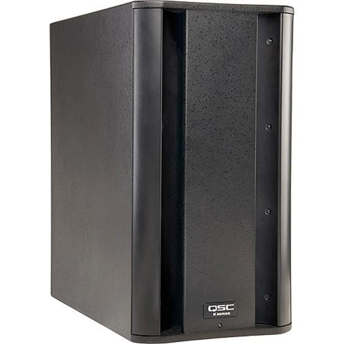 """QSC QSC K10 10"""" 1000W Powered Speaker with Subwoofer Deluxe Kit"""