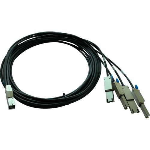 Qualstar Minisas 4X 8644-8088 Quad Cable 3 Meter