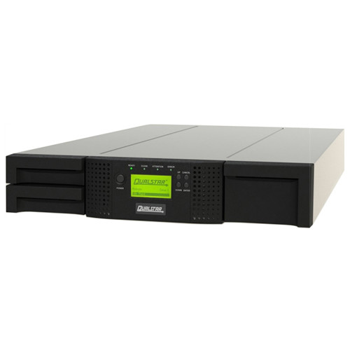 Qualstar Q24 Tape Library with 2 LTO 5 FC Drives