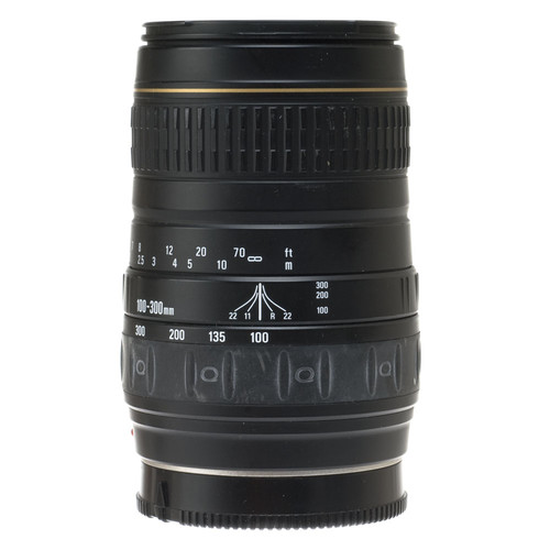 Quantaray Zoom Telephoto 100-300mm f/4.5-6.7 Autofocus Lens for Minolta & Sony
