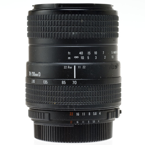 Quantaray Zoom Telephoto 70-210mm f/4.0-5.6 Autofocus Lens for Nikon AF-D