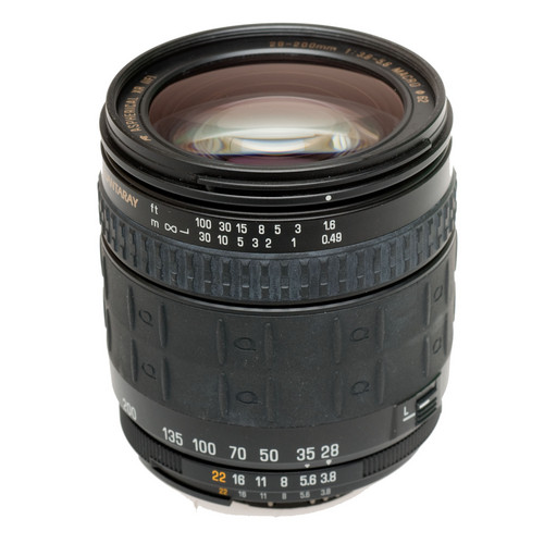 Quantaray Zoom Wide Angle-Telephoto 28-200mm f/3.5-5.6 XR Aspherical IF Macro Autofocus Lens for Nikon