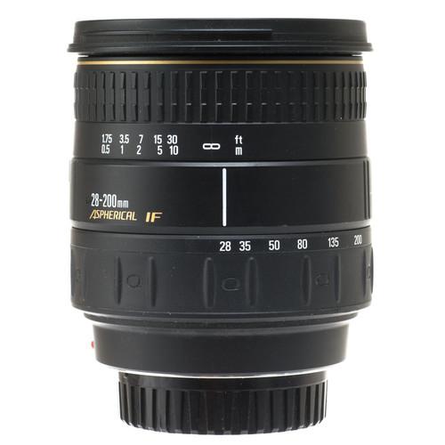 Quantaray Zoom Wide Angle-Telephoto 28-200mm f/3.5-5.6 Aspherical Macro IF Autofocus Lens for Minolta Maxxum and Sony