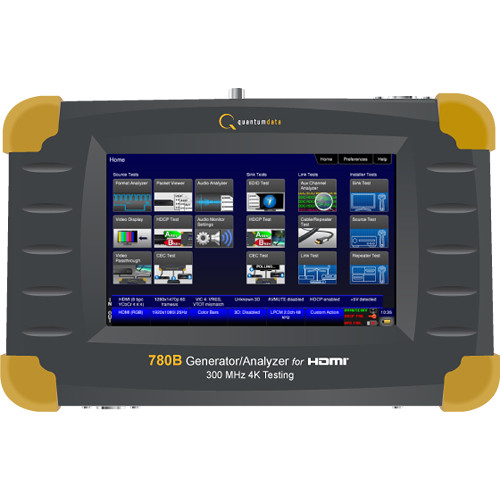 "Quantum 780H 4K 7"" Screen Handheld Test Instrument"