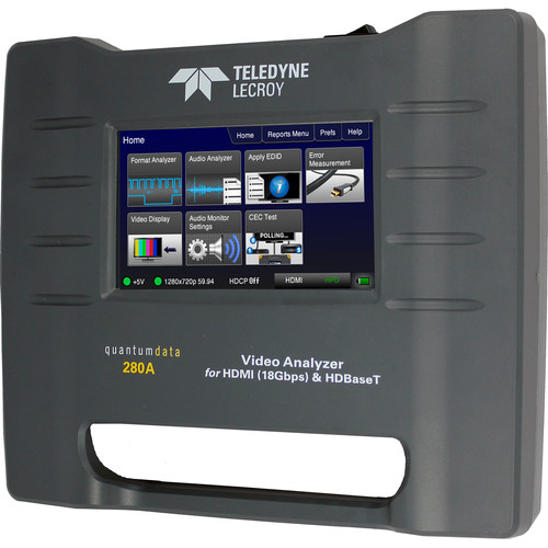 Quantum 280A Portable HDMI/HDBaseT Video Analyzer