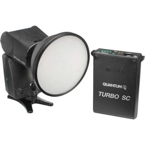 Quantum Instruments Qflash TRIO Flash Kit with Turbo SC Power Pack for Nikon Cameras