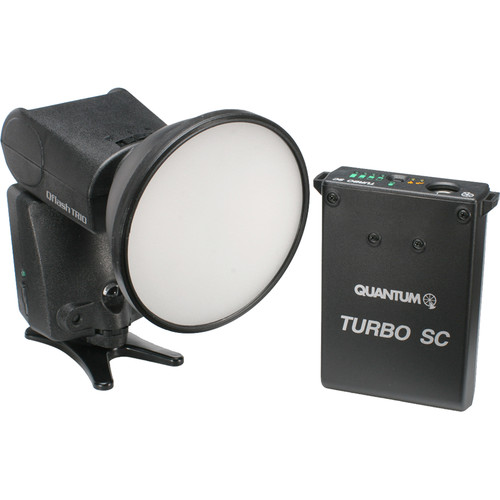 Quantum Instruments Qflash TRIO Flash Kit with Turbo SC Power Pack for Canon Cameras